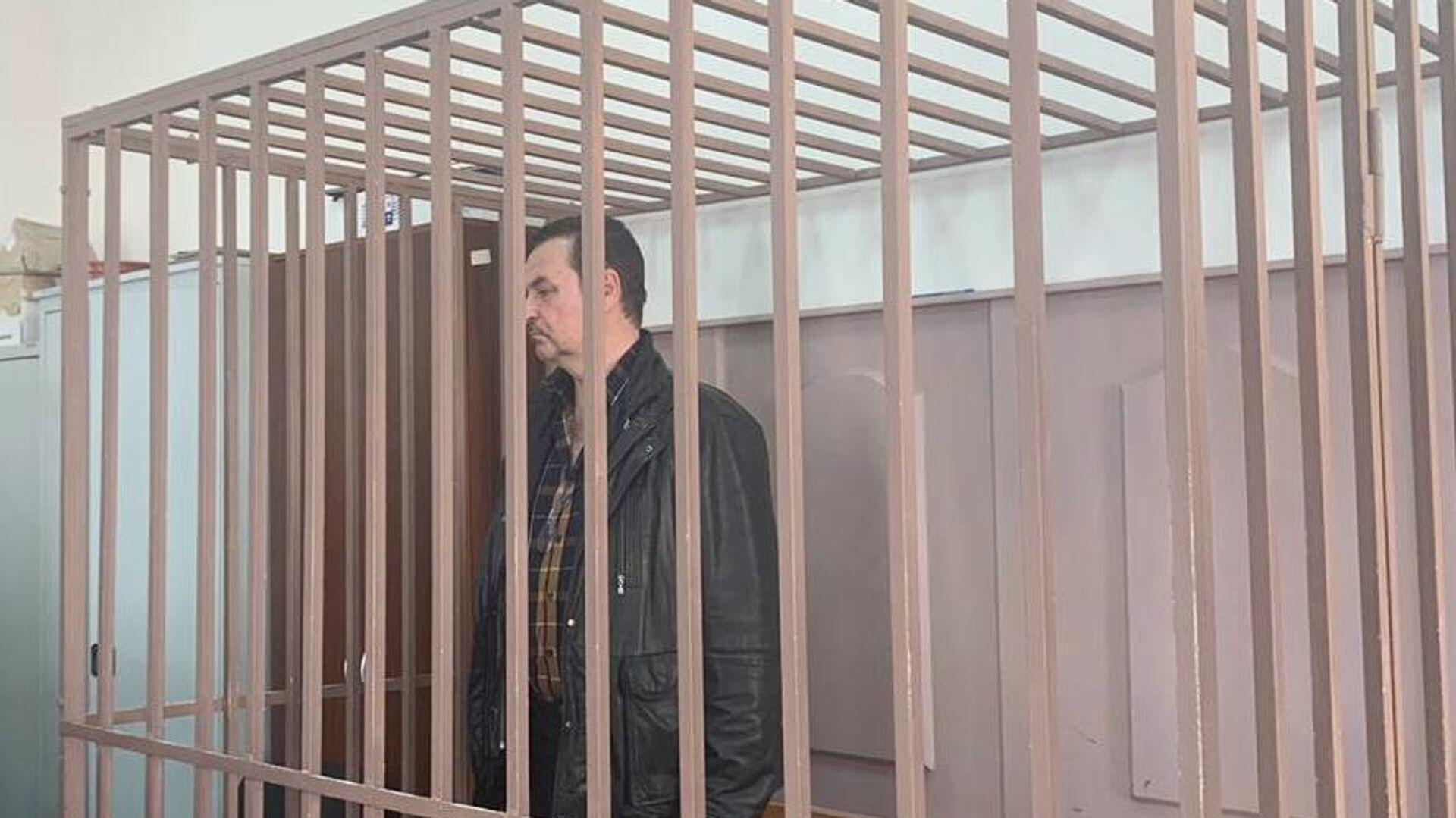 Бывший руководитель компании Авиасити Сергей Коноплев в суде. 22 апреля 2020 - РИА Новости, 1920, 22.04.2020