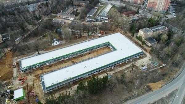 Строительство инфекционного центра Минобороны РФ в Одинцово