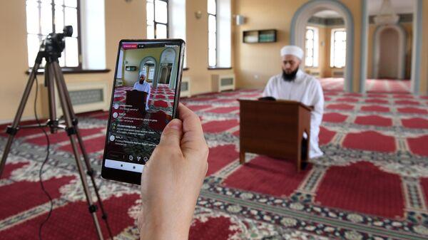 Онлайн трансляция хатма в Галеевской мечети в Казани
