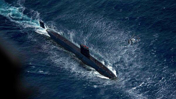 Подводная лодка Королевского флота Великобритании HMS Trenchant