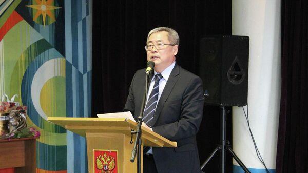 Министр культуры и туризма Республики Калмыкия Хонгор Эльбиков