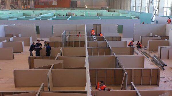 Объекты Москвы будут переоборудованы во временные госпитали