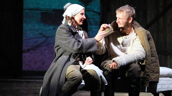 Спектакль Веселый солдат Московского Губернского театра в рамках проекта Большие гастроли-онлайн