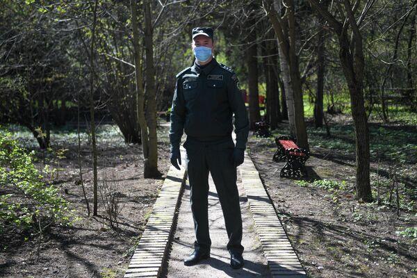 Александр Кузьмин - государственный испектор по охране ООПТ ГПБУ Мосприрода