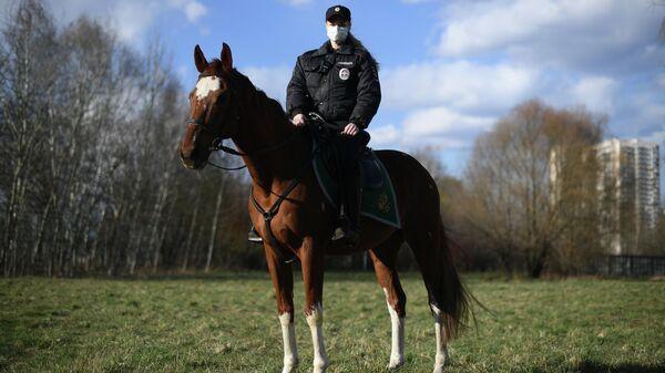 Селютина Мария - полицейский (кавалерист)