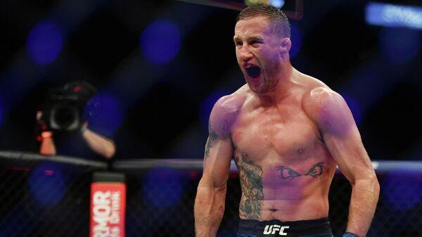 Американский боец UFC Джастин Гэтжи
