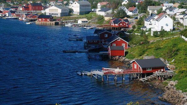 Деревня Рейне в Норвегии