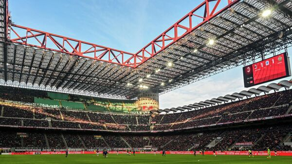 Матч итальянской футбольной серии А