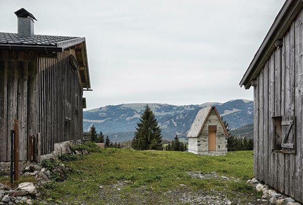 Горная часовня Вирмбоден. Шнепфау, Австрия. Innauer Matt Architekten, номинация New Facilities