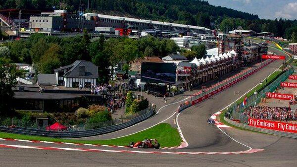 Гоночная трасса Формулы-1 Спа в Бельгии