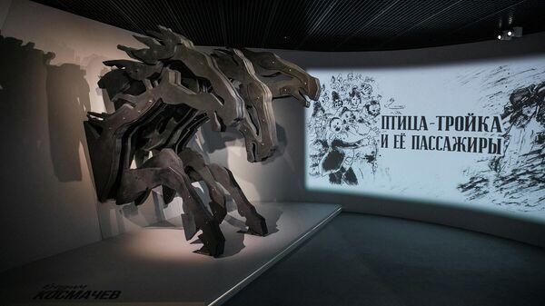 Выставка Птица-тройка и ее пассажиры в музее Анатолия Зверева