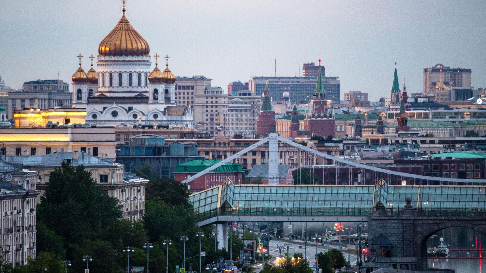 Вид на Храм Христа Спасителя в Москве - РИА Новости, 1920, 20.10.2020