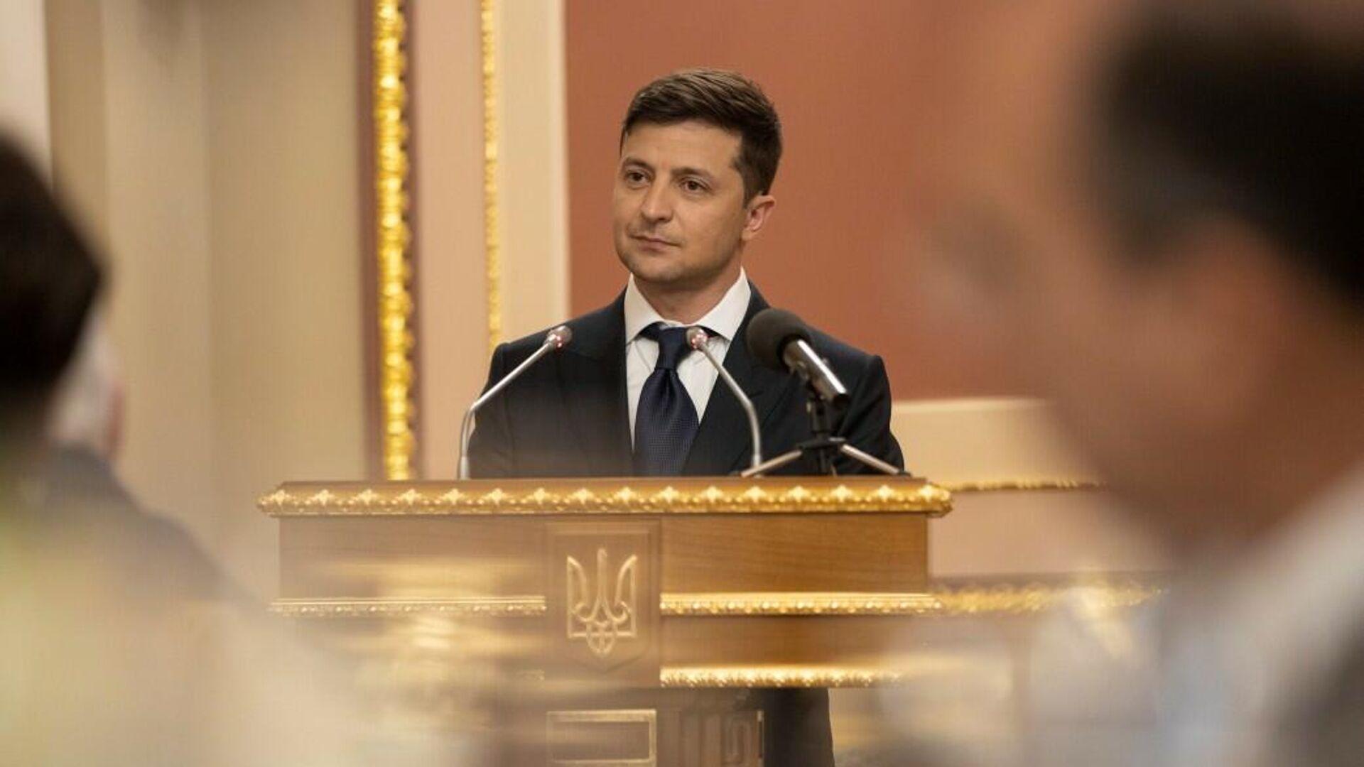 Инаугурация избранного президента Украины Владимира Зеленского. 20 мая 2019 года - РИА Новости, 1920, 04.07.2020