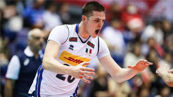 Волейболист сборной Италии Габриэле Нелли
