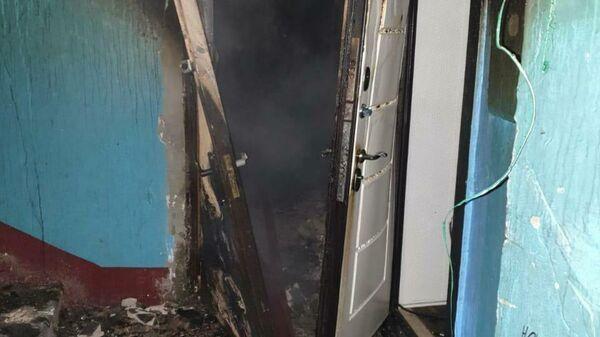 Пожар в Калужской области