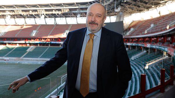 Генеральный директор футбольного клуба Локомотив Василий Кикнадзе