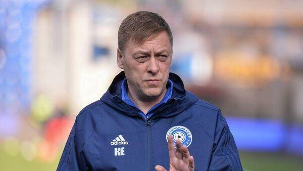 Тренер Оренбурга Константин Емельянов