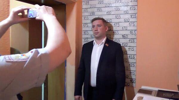 Задержание депутата красноярского горсовета Ивана Азаренко