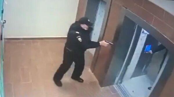 Задержание подозреваемых в перестрелке на юге Москвы