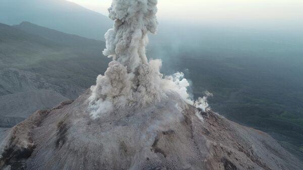 Вулкан Санта-Мария в Гватемале