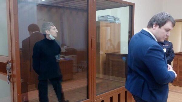Избрание меры пресечения Алексею Барышникову, захватившему отделение банка в Москве