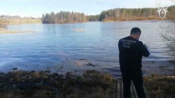 Спасатели обнаружили тело пропавшей в Мурманской области девочки. Кадры СК