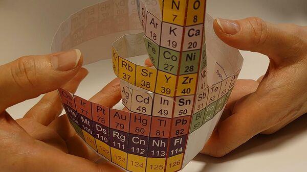 Японские физики представили новую периодическую таблицу элементов