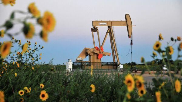 Добыча нефти в штате Оклахома, США