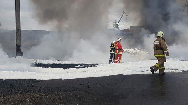 Пожар в Норильске