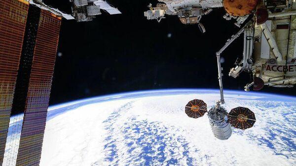 Расстыковка грузового корабля Cygnus от Международной космической станции