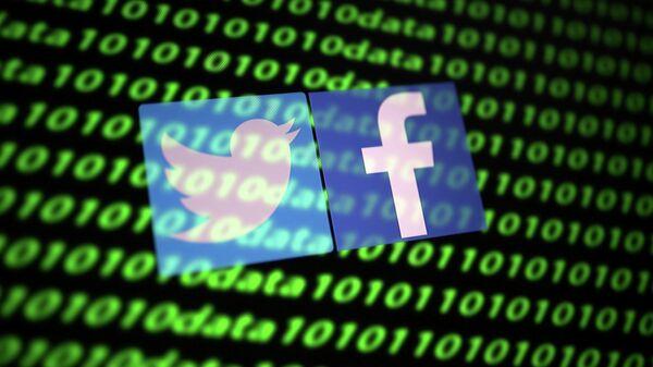 Социальные сети Twitter и Facebook