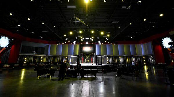 Октагон UFC в Лас-Вегасе