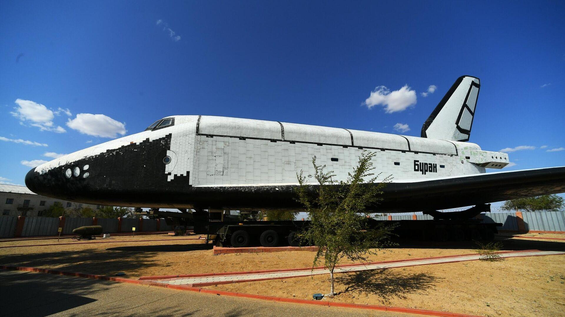 Космический корабль Буран в музее истории космодрома Байконур - РИА Новости, 1920, 24.03.2021