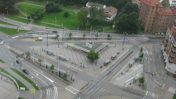 Площадь Корсвеген в Гетеборге, Швеция