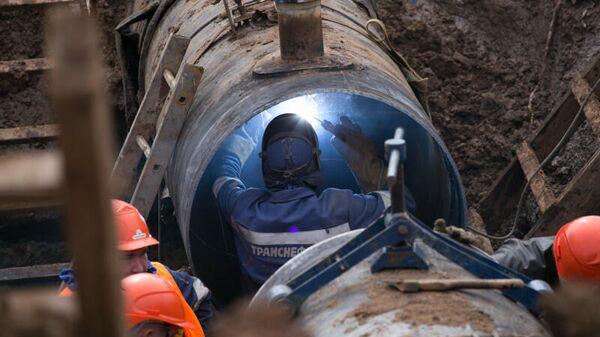 Ремонтные работы на нефтепроводе АО Транснефть-Прикамье