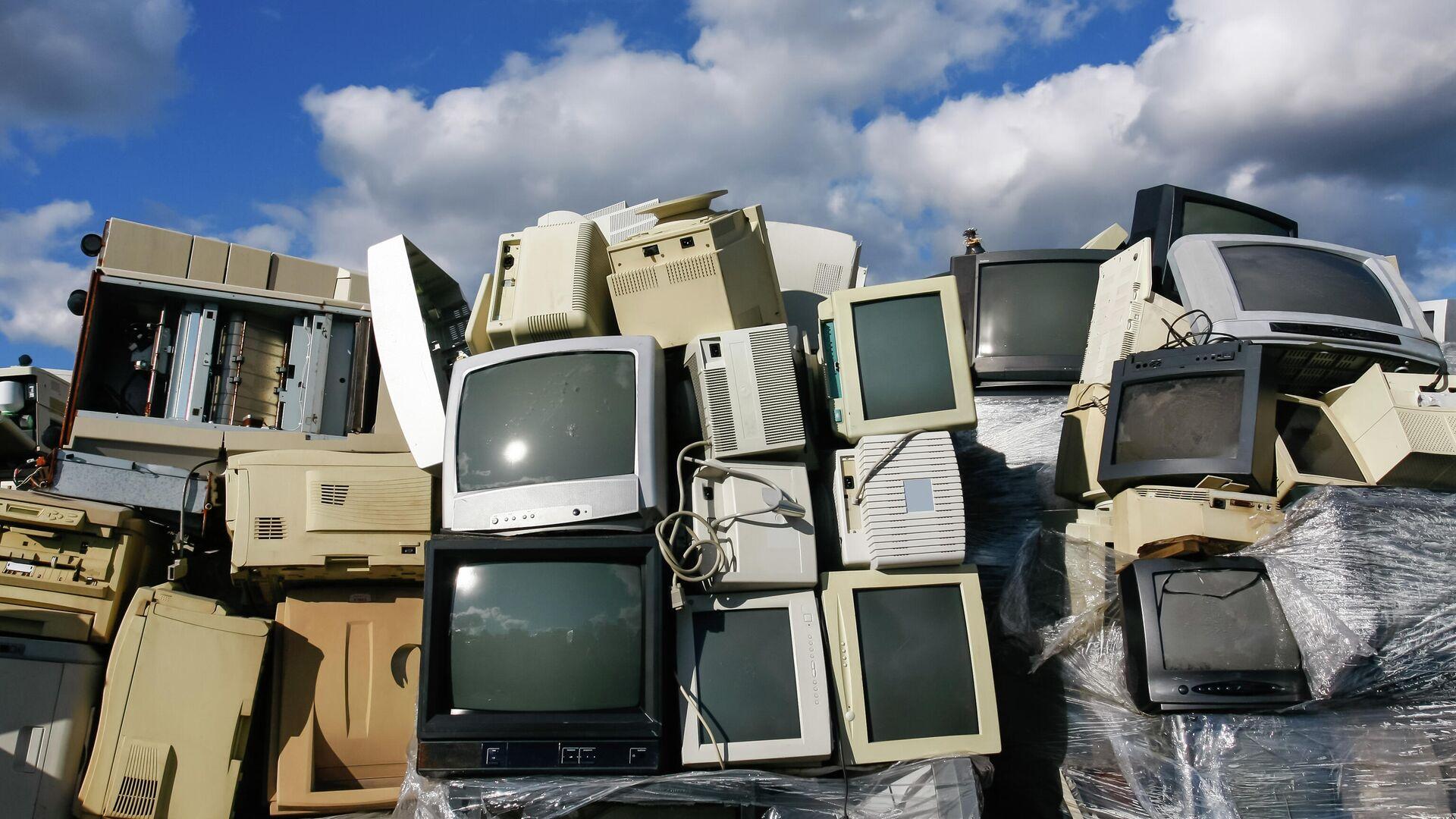 Утилизация электронных отходов - РИА Новости, 1920, 04.03.2021