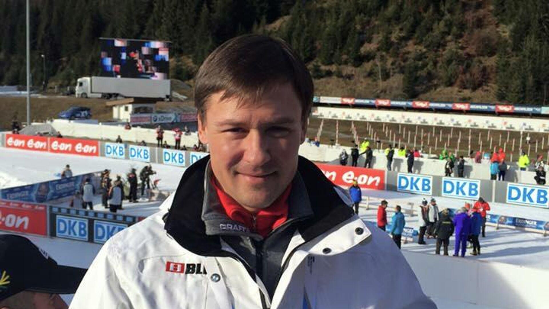 Двукратный чемпион мира по биатлону Дмитрий Ярошенко - РИА Новости, 1920, 27.10.2020