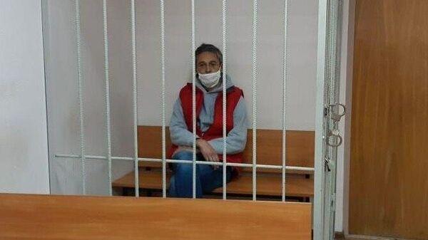 Александр Повалко в суде