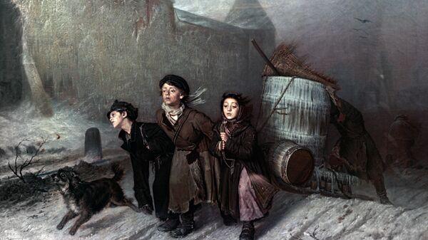 Печальная история Тройки Перова и Охотники на привале