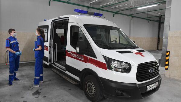 Врачи на подстанции скорой медицинской помощи на северо-востоке Москвы