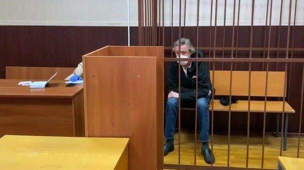 Актер Михаил Ефремов в Таганском районном суде