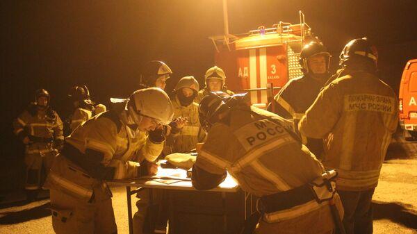 Пожар на газораспределительной станции в Казани