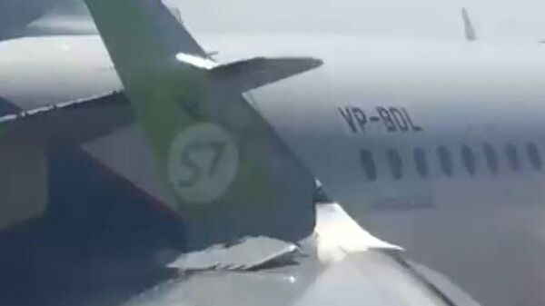 Столкновение самолетов в Пулково