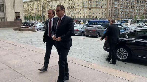 Чешский посол прибыл в МИД России