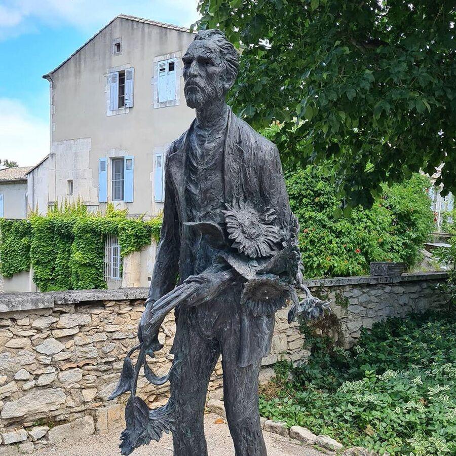 Монастырь и больница для душевнобольных Сен-Поль в Сен-Реми-де-Прованс, где лежал Ван Гог