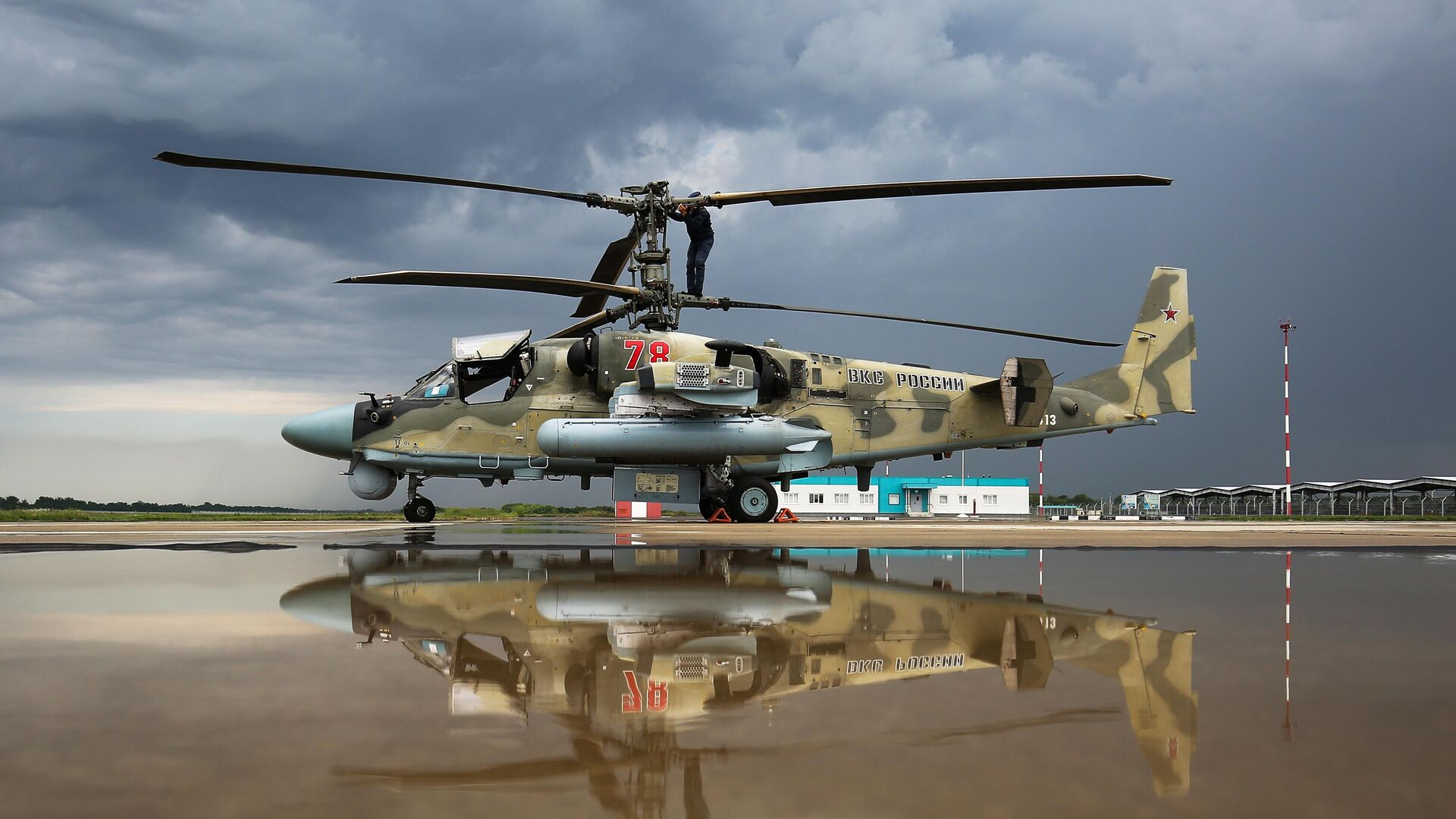 Ударный вертолет Ка-52 Аллигатор  - РИА Новости, 1920, 19.05.2021