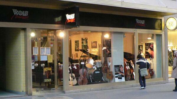 Магазин Wolf Musique в Страсбурге