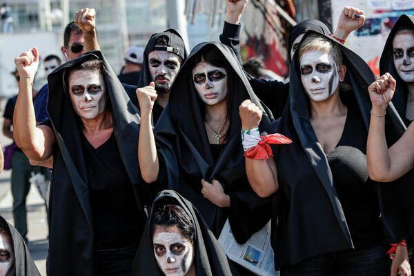 Антиправительственные протесты в Бейруте, Ливан