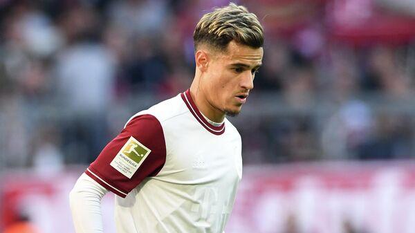 Полузащитник ФК Бавария Филиппе Коутиньо
