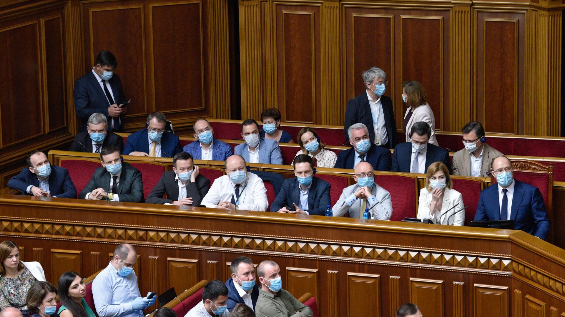 Заседание Верховной рады Украины в Киеве - РИА Новости, 1920, 05.11.2020